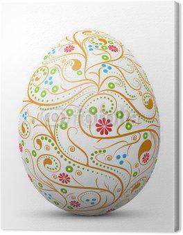 Obraz na Płótnie Wielkanoc jajko, symbol, wzór, nie wirować, streszczenie, 3D malowane,
