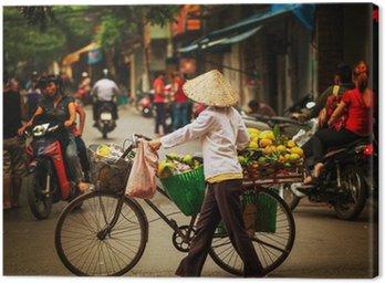 Obraz na Płótnie Wietnamczycy. Hanoi