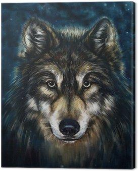 Obraz na Płótnie Wilk z przodu