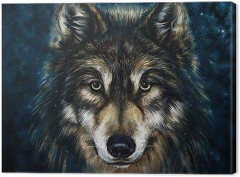Wilk z przodu
