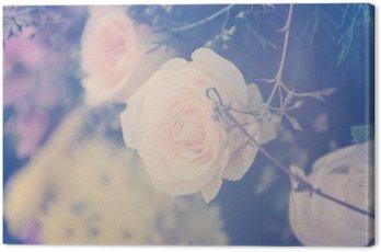 Winobrania wzrósł bukiet kwiatów łagodne tło