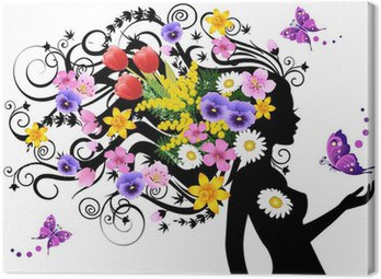Obraz na Płótnie Wiosną bajki