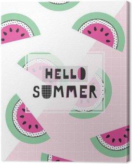 Witaj lato plakat