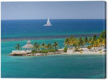 Obraz na Płótnie Wlot Karaiby w Ocho Rios