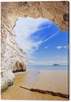 Obraz na Płótnie Wnętrze jaskini, włochy
