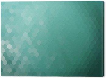 Obraz na Płótnie Woda tło sześciokątnym