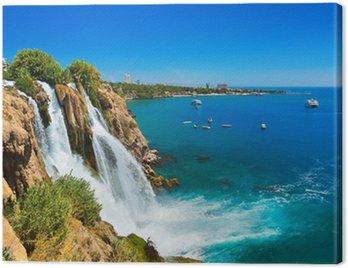 Obraz na Płótnie Wodospad Duden w Antalya Turcja