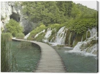 Obraz na Płótnie Wodospad