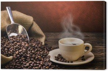 Obraz na Płótnie Wrzenia czarna kawa