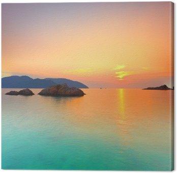 Obraz na Płótnie Wschód słońca