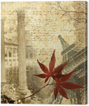 Obraz na Płótnie Wspomnienia o Paryżu