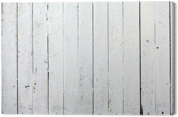Obraz na Płótnie Wyblakły biały drewna