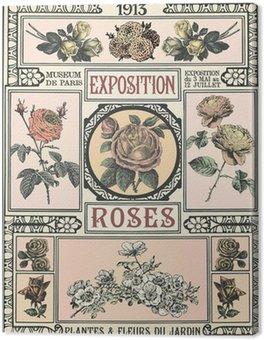 Obraz na Płótnie Wystawa Róż