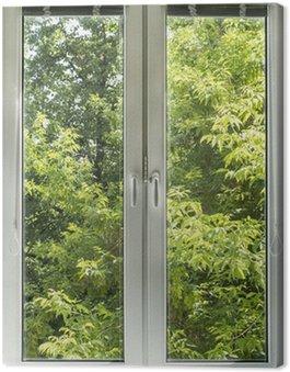 Obraz na Płótnie Wyświetlenia okna