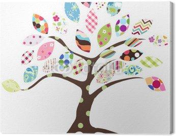 Obraz na Płótnie Wzór drzewa