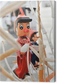 Obraz na Płótnie Zabawki Pinocchio