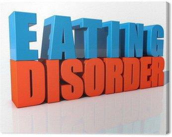 Obraz na Płótnie Zaburzenia odżywiania (trastorno Alimentario)