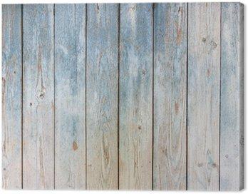 Obraz na Płótnie Zabytkowe drewniane tle niebieski