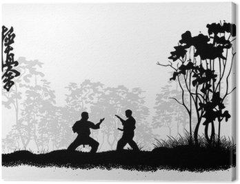 Obraz na Płótnie Zawody karate