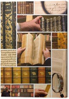 Obraz na Płótnie Że biblioteka i księgarnia
