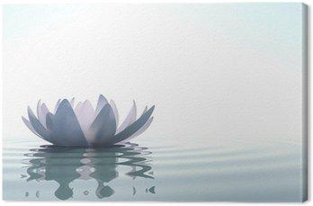 Zen kwiat loto w wodzie