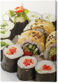 Obraz na Płótnie Zestaw sushi