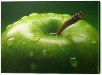 Obraz na Płótnie Zielone jabłko