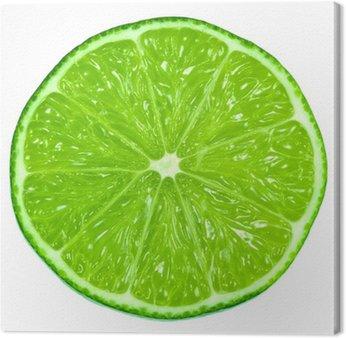 Obraz na Płótnie Zielonej limonki