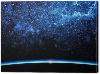 Obraz na Płótnie Ziemia i galaxy