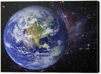 Obraz na Płótnie Ziemia Kosmos Universe Galaxy