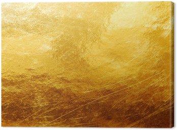 Obraz na Płótnie Złoto