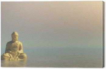 Złoty Budda - 3D render