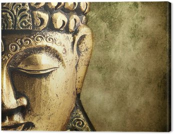 Obraz na Płótnie Złoty Budda