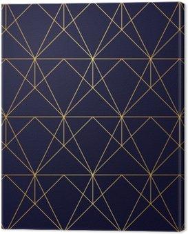 Obraz na Płótnie Złoty tekstury. Bezproblemowa geometryczny wzór. Złote tło. sol
