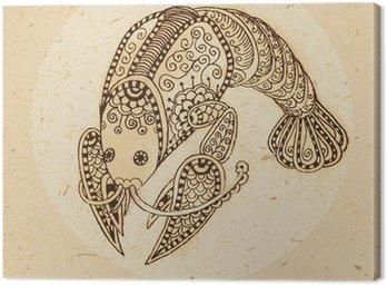 Obraz na Płótnie Znak zodiaku rak