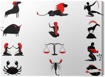 Obraz na Płótnie Zodiak