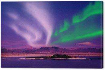 Obraz na Płótnie Zorza polarna