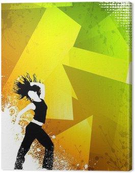 Obraz na Płótnie Zumba Fitness tańca