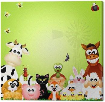 Obraz na Płótnie Zwierzęta hodowlane