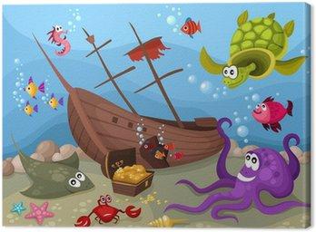 Obraz na Płótnie Życie morskie