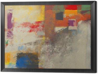 Obraz v Rámu Abstrakce