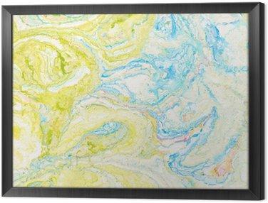 Obraz v Rámu Abstraktní barva pozadí
