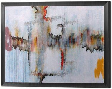Obraz v Rámu Abstraktní malbu