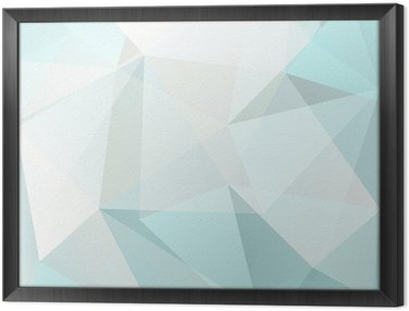 Obraz v Rámu Abstraktní trojúhelník, pozadí, vektor
