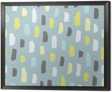 Obraz v Rámu Abstraktní vzor