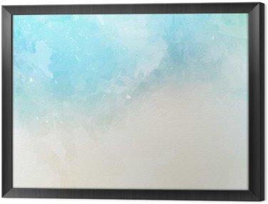 Obraz v Rámu Akvarel textury na pozadí
