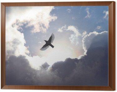 Obraz v Rámu Anděl Bird v nebi