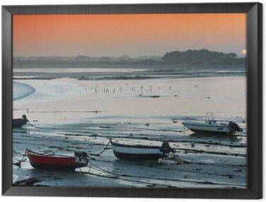 Obraz v Rámu Aurore sur la baie d'Audierne