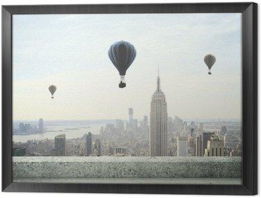 Obraz v Rámu Balon na obloze