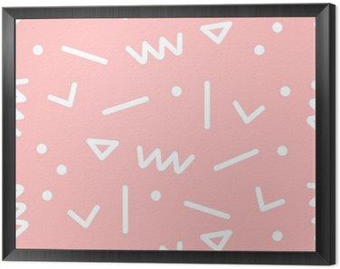 Obraz v Rámu Bezešvé geometrický vzor.